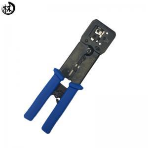 Kico Network Electronic Tools RJ11/RJ45 6P8P Modular Connectors Plug tool,Modular Plug Crimping Tool with Holes