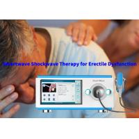 China Energy 1.0 Bar to 5.0 Bar Shock Wave Therapy Equipment With Physical and ED Treatment on sale