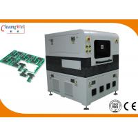 China High Speed Laser PCB Depanelizer Machine for Neat / Mooth Edge Cutting wholesale
