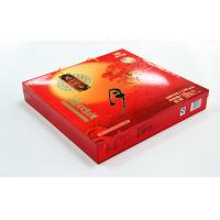 Wholesale Elegent Red Printed Recycled Paper Gift Boxes , Moon Cake packaging from china suppliers