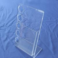 China Retail Store PVC acrylic and plastic display shelf / shelves units cases for leaflets wholesale