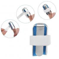 China Finger brace for arthritis several types available metal finger splint blue color wholesale