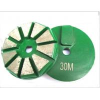 Buy cheap Two Round Trapezoid Concrete Grinding Segment from wholesalers