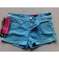 China Available jeans stock 1200pcs authentic denim hot pants slim hot Denim Jeans on sale