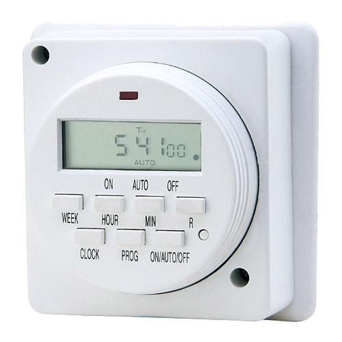 wall mounted outlet digital light timers plug timer switch. Black Bedroom Furniture Sets. Home Design Ideas