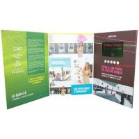 China promotional activities video invitation card with upload video / music wholesale