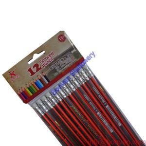 China 7 inches 12pcs strip HB pencil set -promotional hb pencil triangle wood pencil wholesale