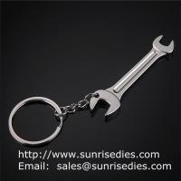 China Metal tool lever key ring, metal wrench lever tool key holder keychains wholesale, wholesale