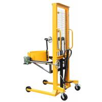 Quality Manual Rotating Hydraulic Forklift Drum Lifter for Loading Steel and Plastic Drums for sale