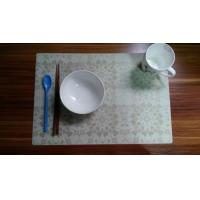 China Promotional Soft Silicone Place Mat , Washable PlaceMat For Restaurant wholesale
