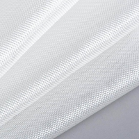 Buy cheap White color Plain woven fiberglass clothes for composite material from wholesalers