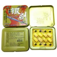 Buy cheap Silver sword natural male enhancement anti erection dysfunction penis enlargement from wholesalers