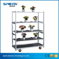 China High quality flower pot display transportation cart flower trolley wholesale