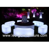 China 120CM * 40CM * 40CM LED cube stools / Chair for bars , night clubs , wedding wholesale