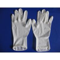 China 100% latex; Powder free and non-sterile Disposable Latex Glove wholesale