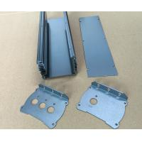China Sand Acid Oxidation Aluminium Enclosures Aluminum Heat Sink 48*148*130 mm wholesale