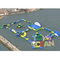 China Colorful Amazed Inflatable Theme Park Outside / Funny Inflatable Games For Adult wholesale