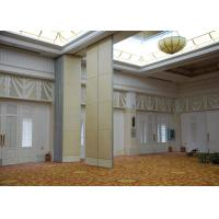 China Veneer Gypsum Acoustic Folding Partitions , Accordion Folding Partitions For Restaurant on sale