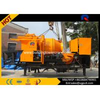 Quality 8MPa Outlet Pressure Truck Mounted Concrete Pump 600L×1200mm 18m3/H Diesel for sale