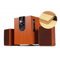 China High Performance 2.1 PC Speakers System With Subwoofer Wood Construction wholesale