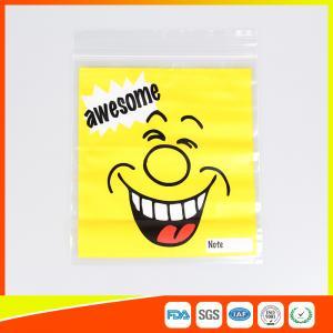 China Custom resealable plastic bags , Self-Adhesive Header Plastic Ziplock Bags wholesale