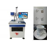 China Ceramics Co2 Laser Marking Machine 20khz-100khz With Air Cooling wholesale