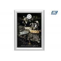 China Customized Size Silver Coloar Aluminum Snap Open Frame Poster Display Case wholesale