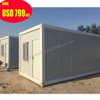 China duplex foldable folding flat pack prefab shipping container house on sale