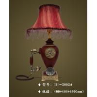 China table lamp with telephone,TH-3002A,mixed material table lamp,modern telephone on sale