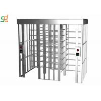 Quality Standard Fire Interface Full Height Automatic Turnstile Mechanism for sale