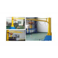 China 0.5 Tons Electric Jib Crane Alloy Steel Movable Raising Efficiency Function wholesale