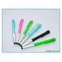 China advertising plastic stylus pen, low price gift printed phone touch pen wholesale