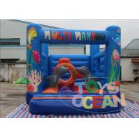 China Indoor Multi Marino Kids Jumping Castle With Obstacle 4X3M , Inflatable Jumper wholesale