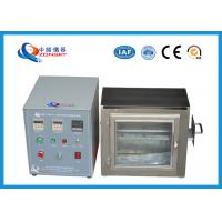 China 38 MM Flame Height Flammability Testing Equipment For Automobile Interior Material wholesale