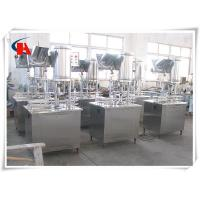 China Low Consumption Pure Water Filling Machine 3 In 1 Production Line Avoiding Second Pollution wholesale