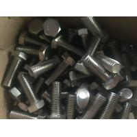 254 SMO Duplex Stainless Steel Fasteners UNS S31254 Hex Head Bolt Nut DIN 933
