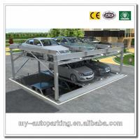 China -1+2 (3 Floors) Pit Design Puzzle Parking System Smart Card Parking Equipment wholesale