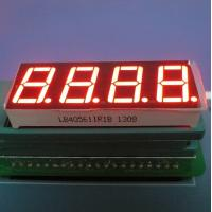 "China High Brightness 0.56"" 4 Digit 7 Segment Led Display Ultra Red For Temperature Indicator wholesale"