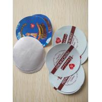 Buy cheap K-cup Use Die Cut Printed Smart Aluminum Foil Sealing Lids from wholesalers