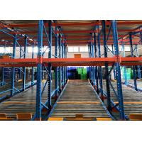 China Full Metal Gravity High Density Pallet Racking System Rust Resistance RAL System Color wholesale