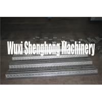 China GI Steel Metal Deck Roll Forming Machine With Movable Control Box wholesale