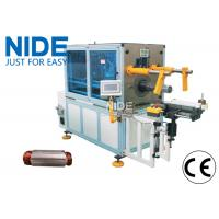China Automatic Horizontal Coil Inserting Machine With Wedge Feeding Mode , Controlled by PLC wholesale