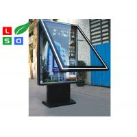 China Dual Sided LED Outdoor Light Box Waterproof With Built In Stander For Street wholesale