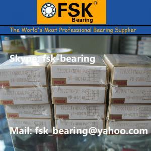 China High Speed Angular Contact Ball Bearing NSK 7202CTYNDULP4 wholesale