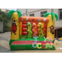 China Playground Childrens Inflatable Bounce House For Rental Waterproof Security wholesale