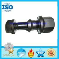 Buy cheap Black oxide hub bolt with nut,Hub bolt with nut,Black oxide wheel bolt and nut,High tensile bolt and nut,Hex flange bolt from wholesalers