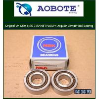China Air-conditionin , Airport Ball Bearings NSK 7204A5TYDULP4 With Long Life wholesale