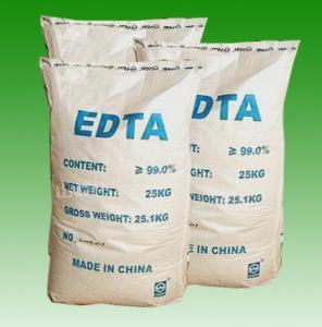 China CAS No. 60-00-4 EDTA Acid, Edetic Acid or Edathamil White Powder EDTA Chelator R36/37/38 wholesale