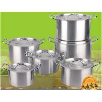 China 12 Piece Aluminum Cookware / Pot Set for For Home, Cafeteria, Restaurant wholesale