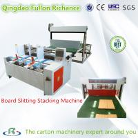 China Paper Board Slitting Stacking Machine for Partition Assembing Machine wholesale